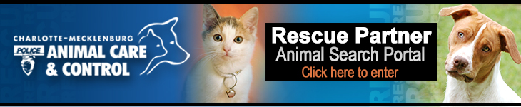 animal rescue portal for partner rescues only; not for public