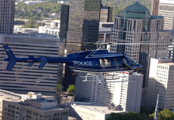 Photo of police helicopter