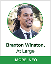 Braxton Winston At large bio page