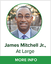 James Mitchell Jr At large bio page