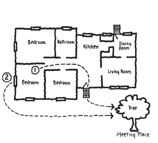 Fire and life safety education fire escape plans Draw a plan of your house