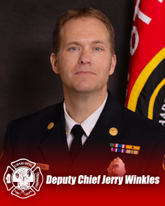 Deputy Chief Jerry Winkles