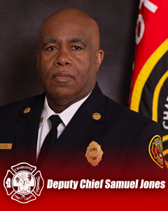 Deputy Chief Samuel Jones