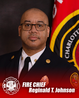 Photo of Fire Chief Reginald T. Johnson