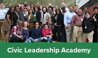 Illustration of Civic Leadership Academy Artwork