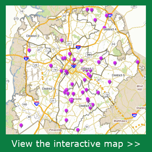 Neighborhood Organization Contact List Map