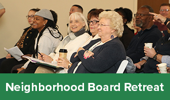 Neighborhood Board Retreat Graphic