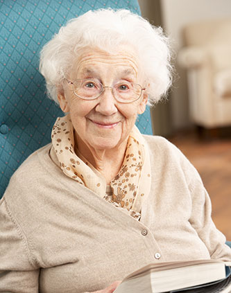 Elderly Lady Aging In Place