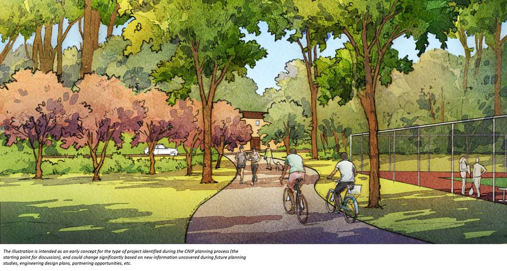 Backlot Trail rendering