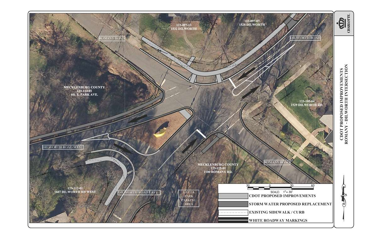Dilworth-Romany Road Intersection Improvements