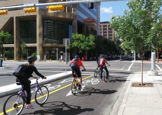 Cycle Track in Calgary