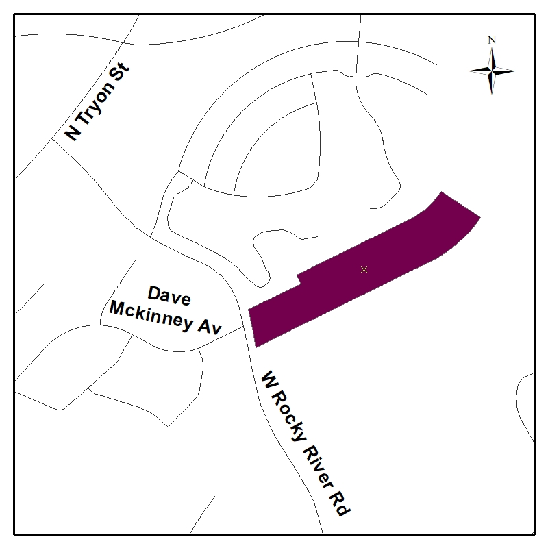 vicinity map for Dave McKinney extension