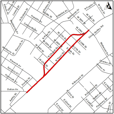 north tryon street business corridor Construction Resume Skills Examples this project will make street improvements and support redevelopment along north tryon street from dalton avenue to 30th street
