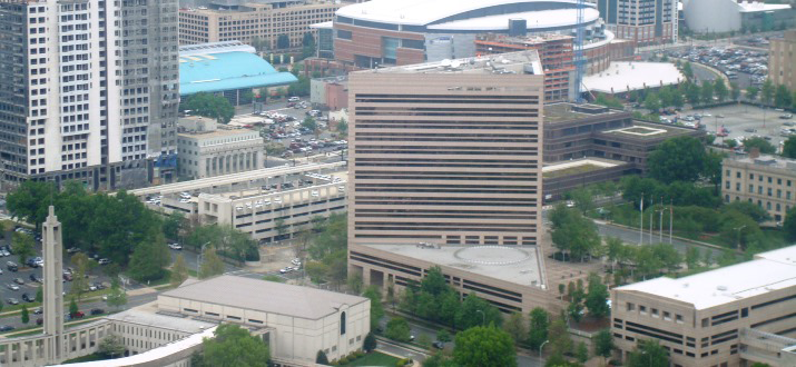 Charlotte Mecklenburg Government Center Building