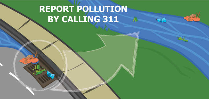 Report Pollution by Calling 311!