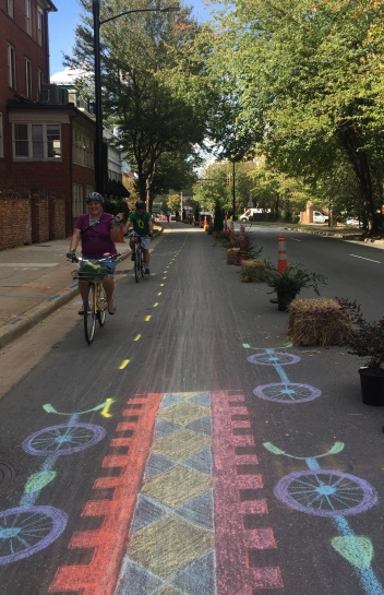 5th-6th Street - Cycle Track Demonstration Project