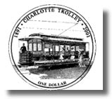 2001-Charlotte Trolley Coin