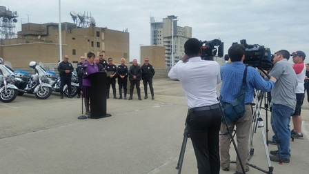 Distracted Driver Awareness Joint News Conference