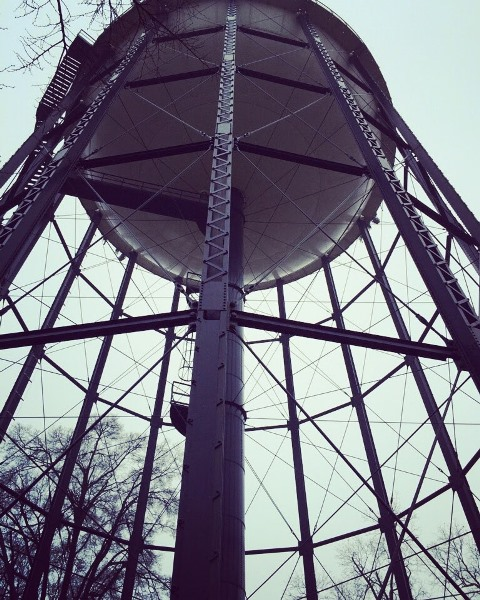 Third Place Photo - Photo of water tower from below