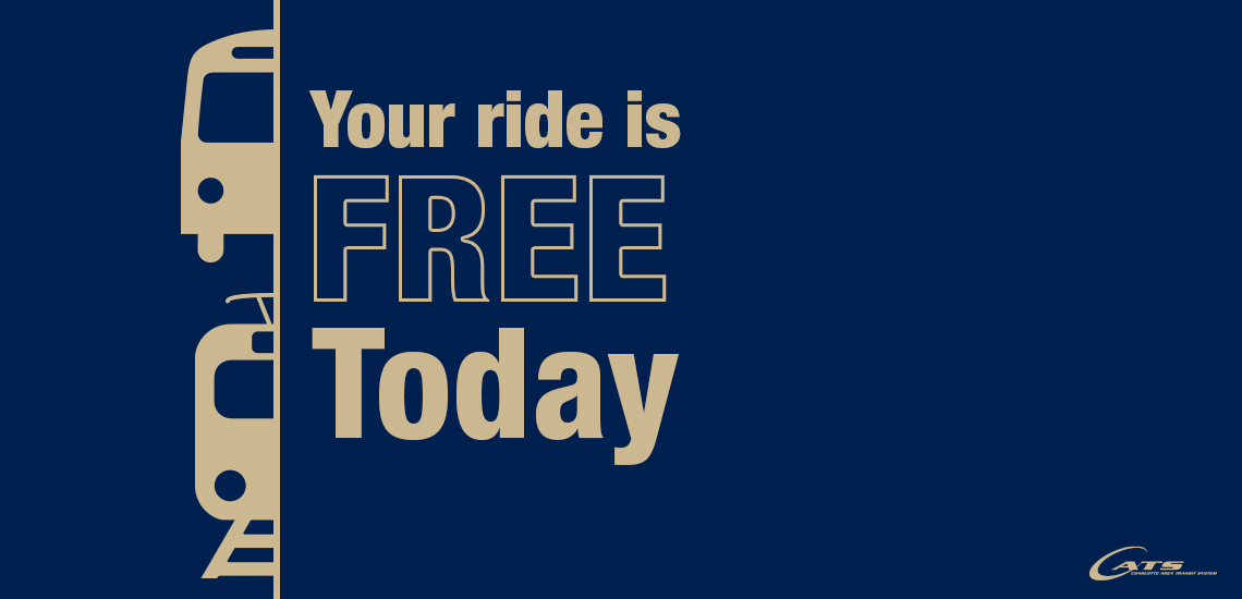 Ride Fare Free This Saturday
