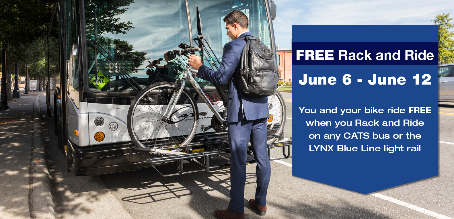 Free Rack and Ride April 30th - May 6th