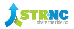 Share the Ride NC logo