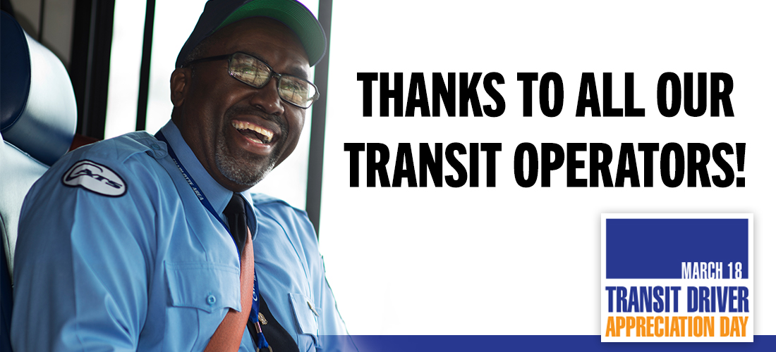 Picture of Transit Driver and Driver Appreciation logo