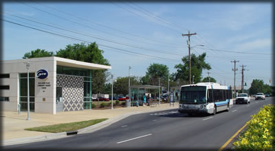 Picture of Rosa Parks Community Transit Center