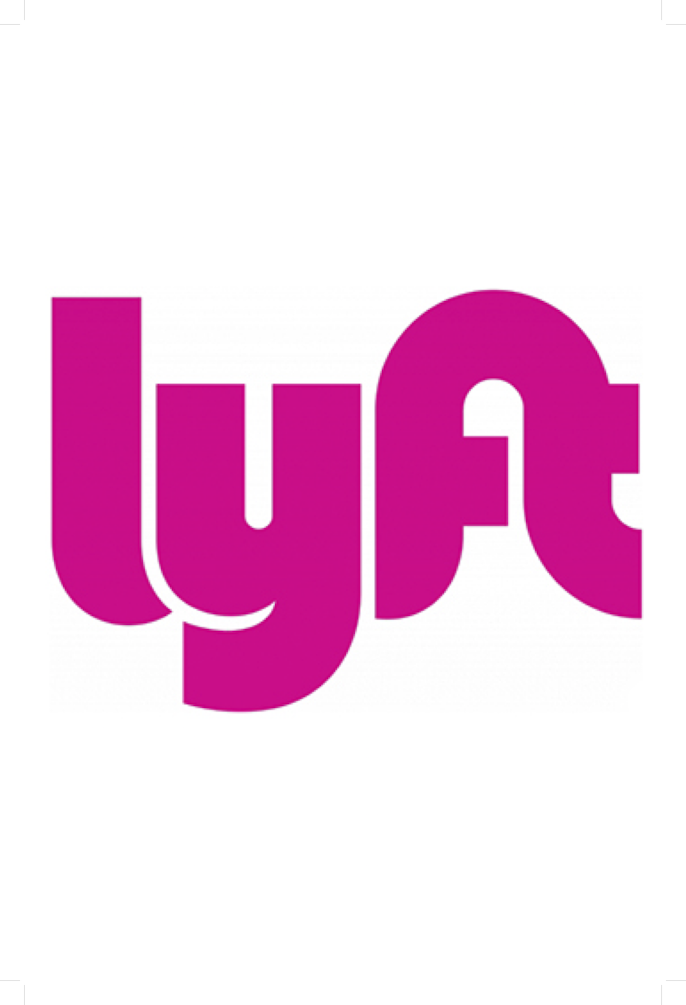 Picture of LYFT rideshare logo