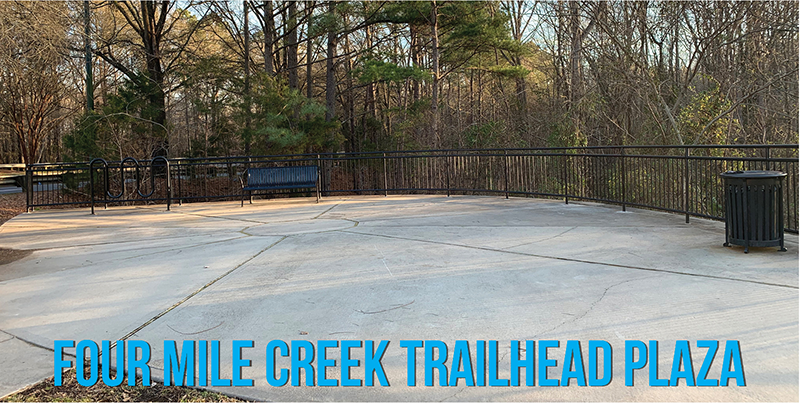 Four Mile Creek Trailhead Plaza