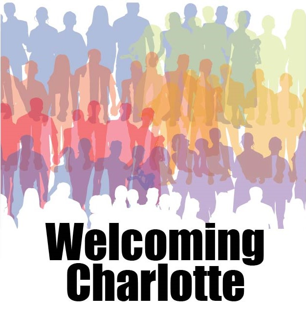 Welcoming Charlotte badge