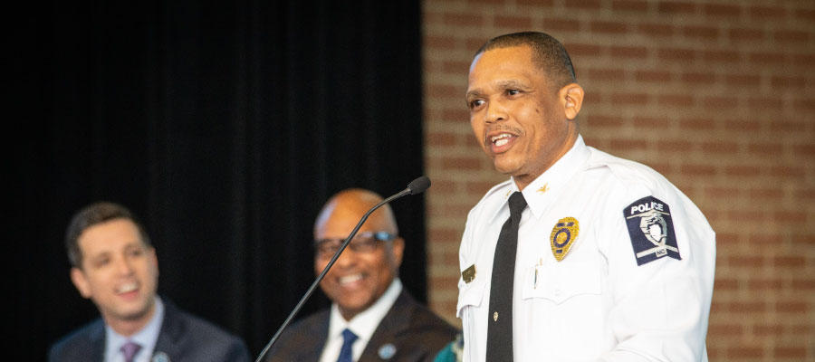Johnny Jennings Promoted to Police Chief