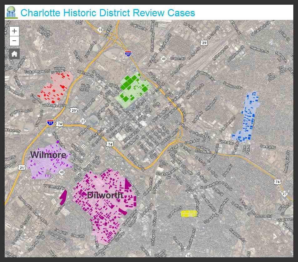 Charlotte's Historic Districts
